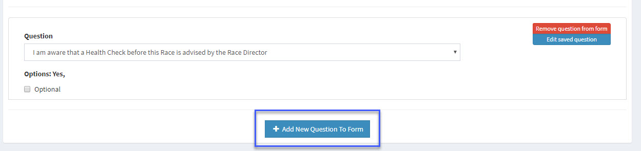 How to Add Custom Questions to your Entry Form