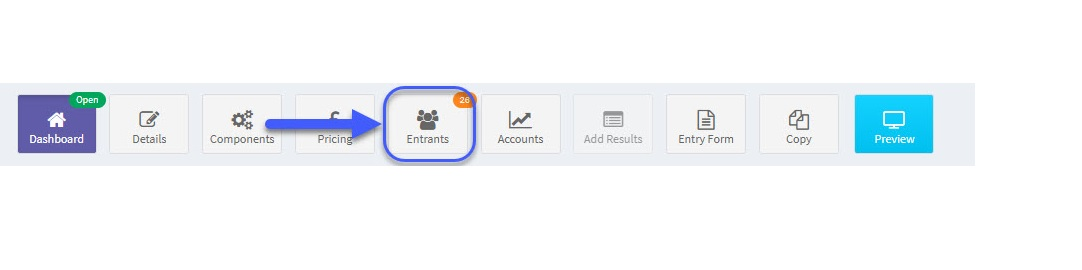 eventrac, How to Refund an Entry